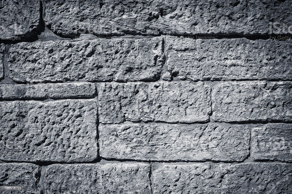 Very old brick wall texture royalty-free stock photo