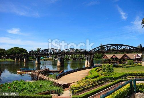 The River Kwai Bridge.