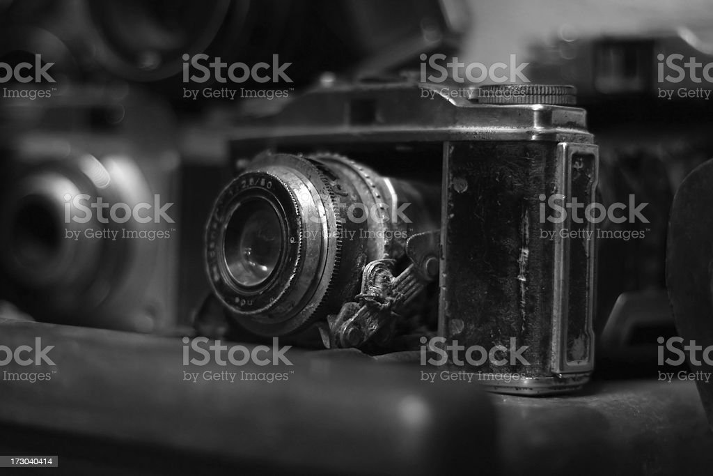 very old camera royalty-free stock photo