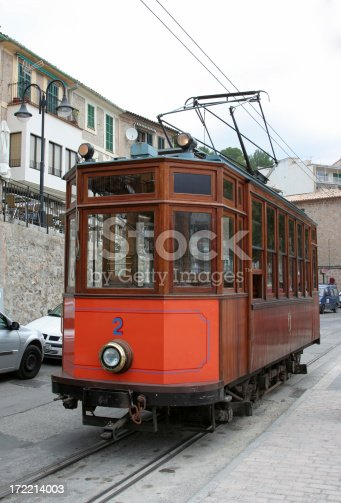 Very old streetcar