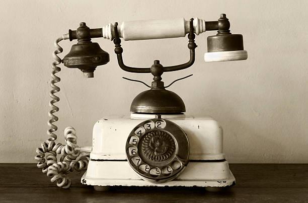 Very old telephone