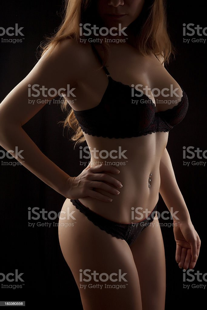 Very Sexy Girl royalty-free stock photo