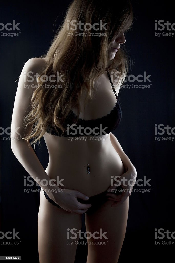 Very Sexy Girl stock photo
