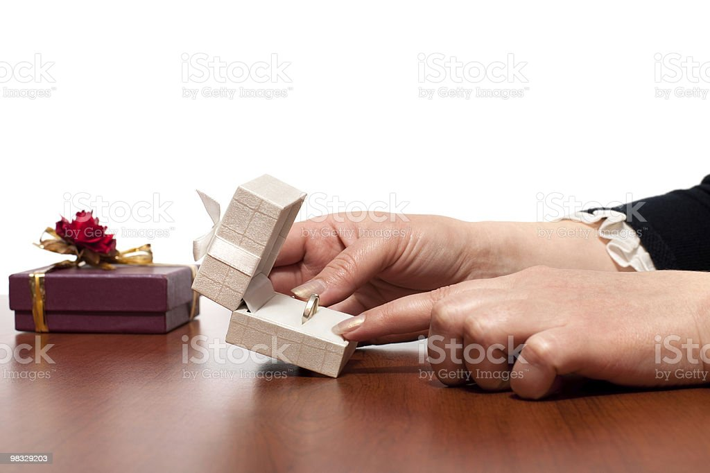 Very special gift royalty-free stock photo
