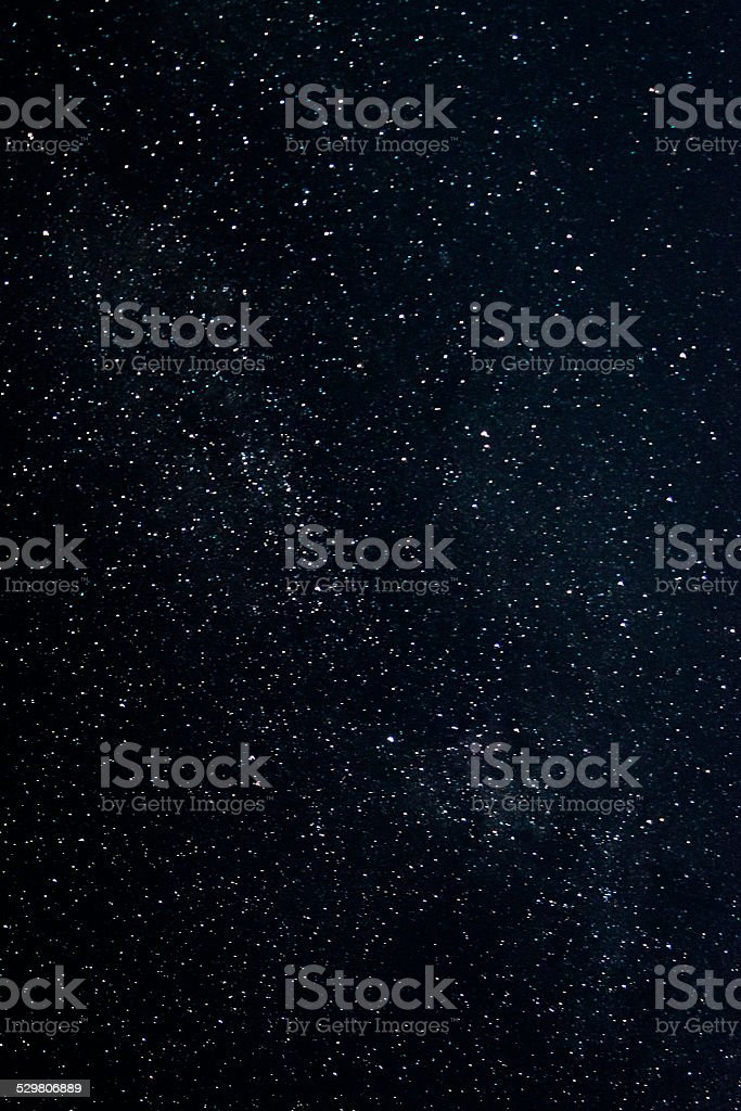 Very starry sky stock photo