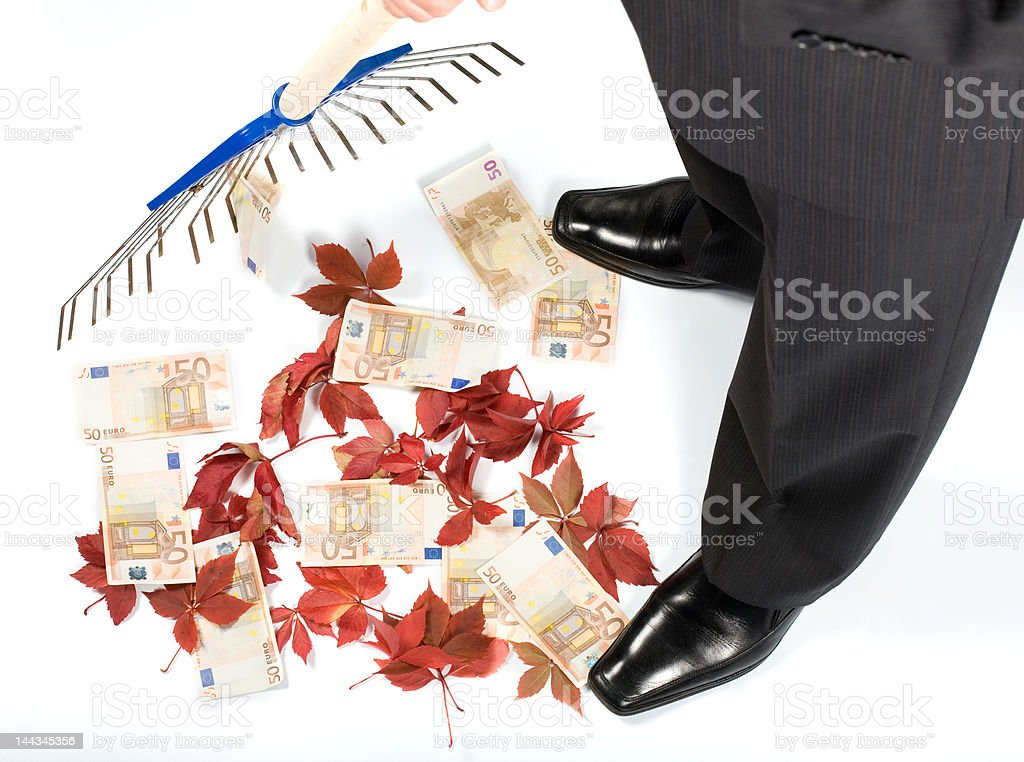 Very successful businessman royalty-free stock photo