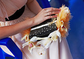 Very uncommon beautiful stylish concept bridal bouquet in book shape