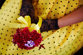 Very uncommon beautiful stylish concept bridal bouquet
