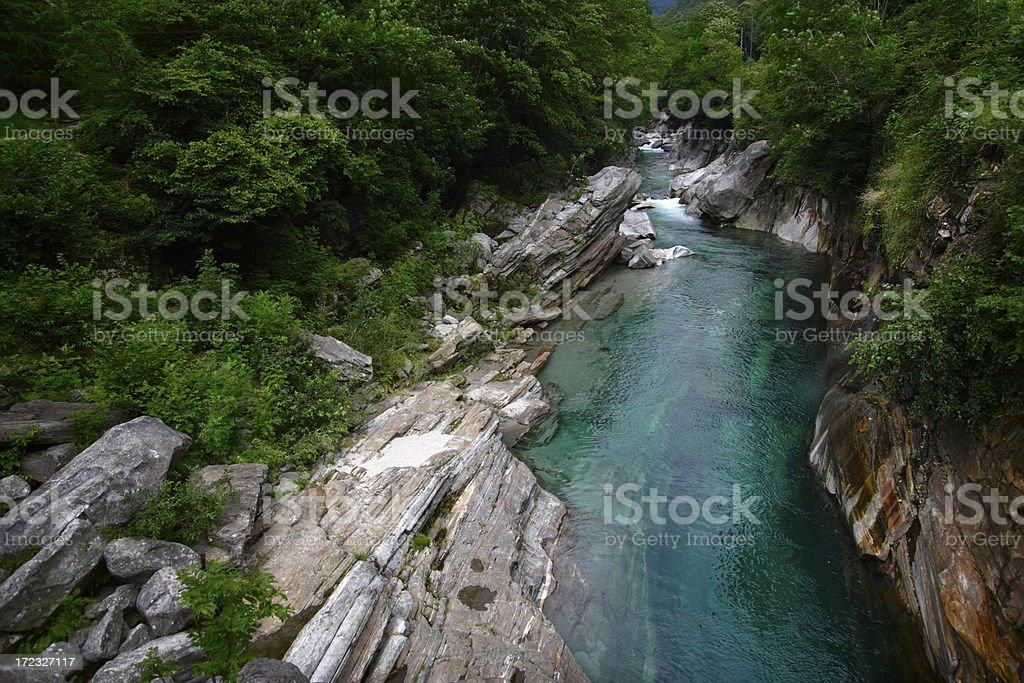 Verzasca River stock photo
