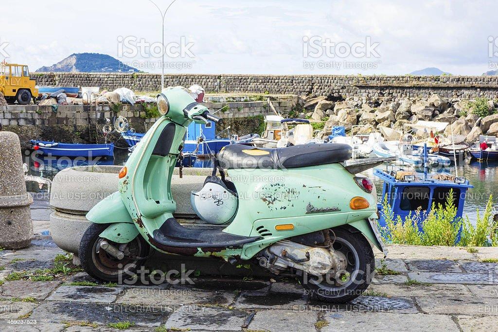 Vespa Scooter stock photo