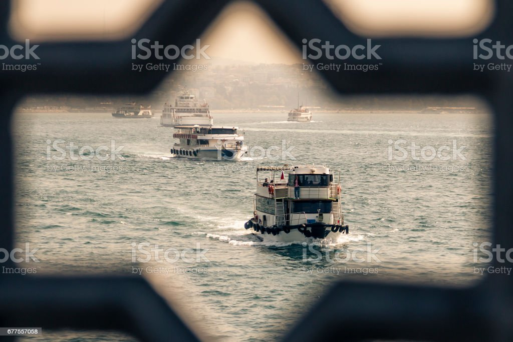 Vessel carry people royalty-free stock photo