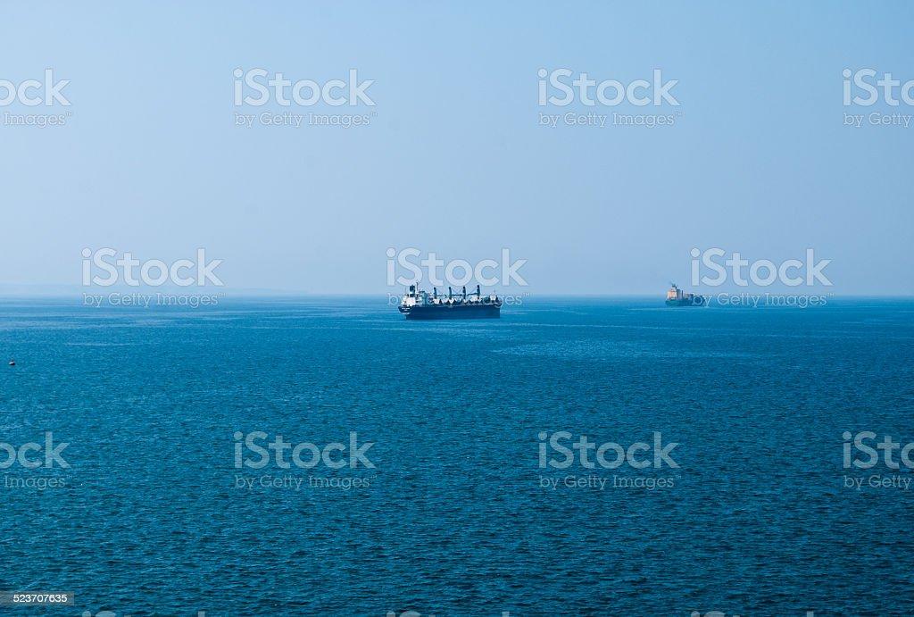 Vessel stock photo