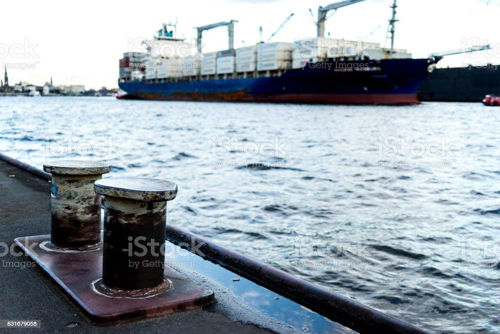 A Vessel. stock photo