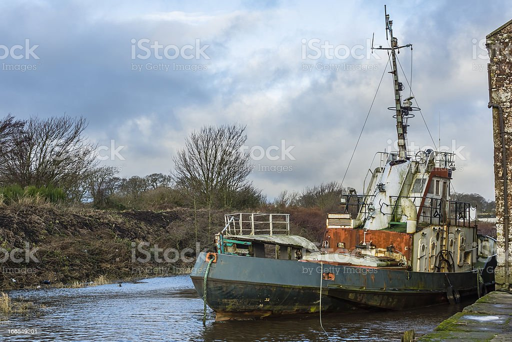 Vessels, Abandoned, Neglected, Decaying, royalty-free stock photo