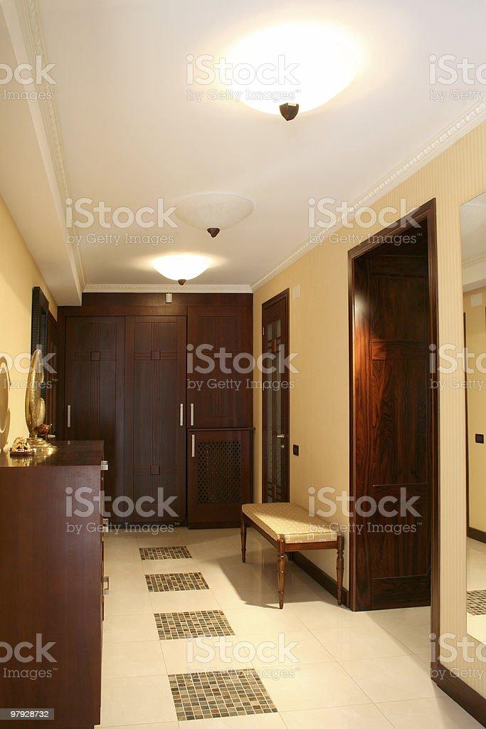 Vestibule royalty-free stock photo