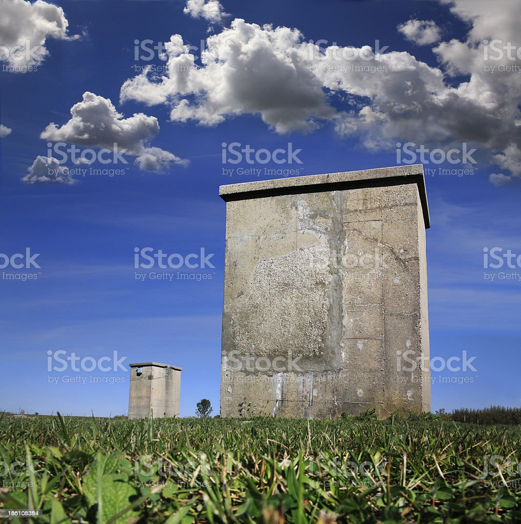 Vestige Of The Cold War royalty-free stock photo