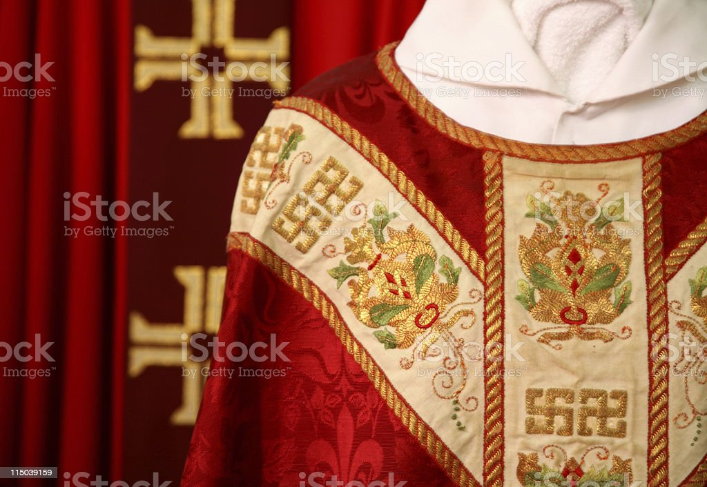 Vestments royalty-free stock photo
