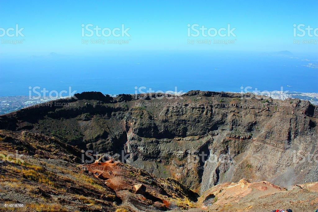 Vesuv stock photo