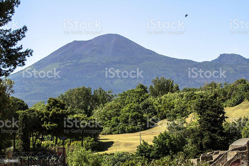 Vesuvius, Naples stock photo