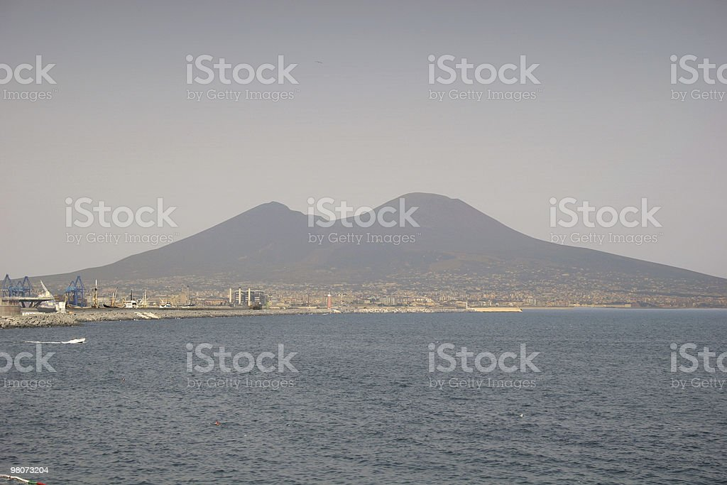 Vesuvius, Napoles royalty-free stock photo