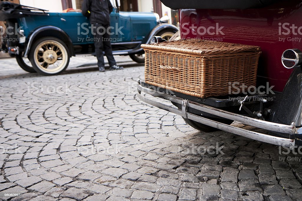 Veteran cars royalty-free stock photo