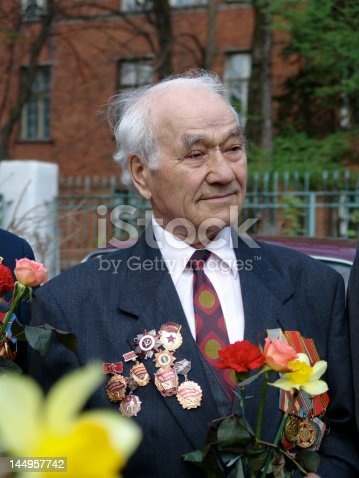 istock Veteran of the second World war 144957742