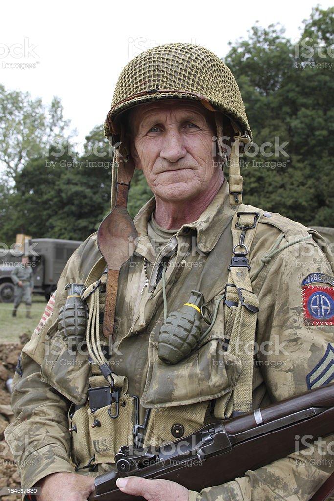 Veteran Yank. royalty-free stock photo