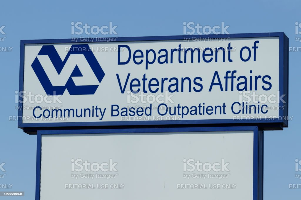 Veterans Affairs Outpatient Clinic. In an effort to bring health care closer to veterans, the VA is testing the viability of outpatient clinics I Peru - Circa May 2018: Veterans Affairs Outpatient Clinic. In an effort to bring health care closer to veterans, the VA is testing the viability of outpatient clinics I Armed Forces Stock Photo