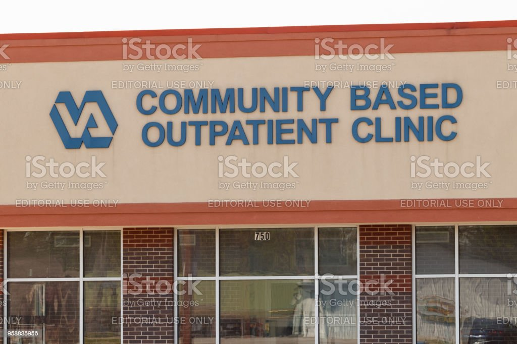 Veterans Affairs Outpatient Clinic. In an effort to bring health care closer to veterans, the VA is testing the viability of outpatient clinics II stock photo