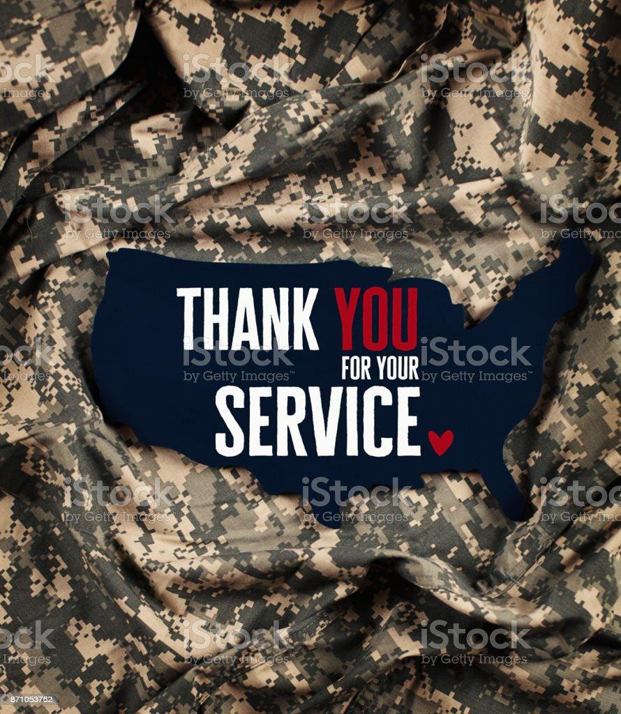 Veterans Day in America stock photo