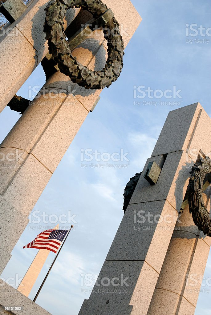 Veterans Day in Washington, D.C. royalty-free stock photo