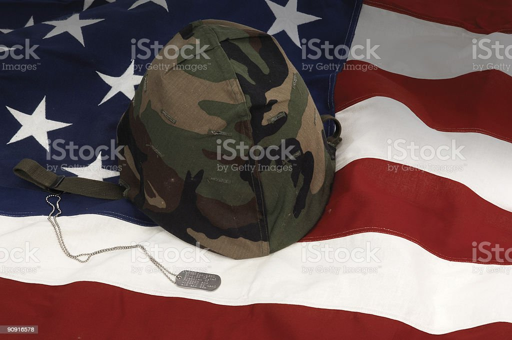 Veteran's Day stock photo