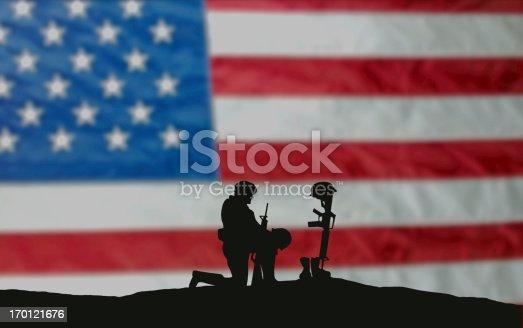 istock Veterans' Day Soldier 170121676
