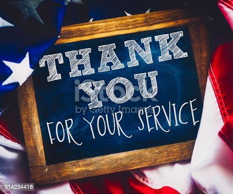 1,702 Thank You For Your Service Stock Photos, Pictures & Royalty-Free  Images - iStock