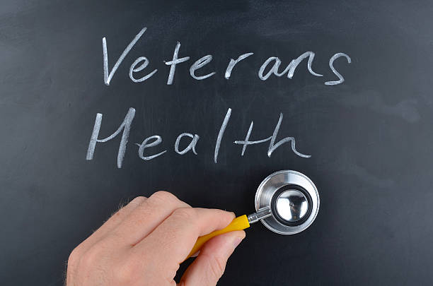 Veterans Health concept stock photo