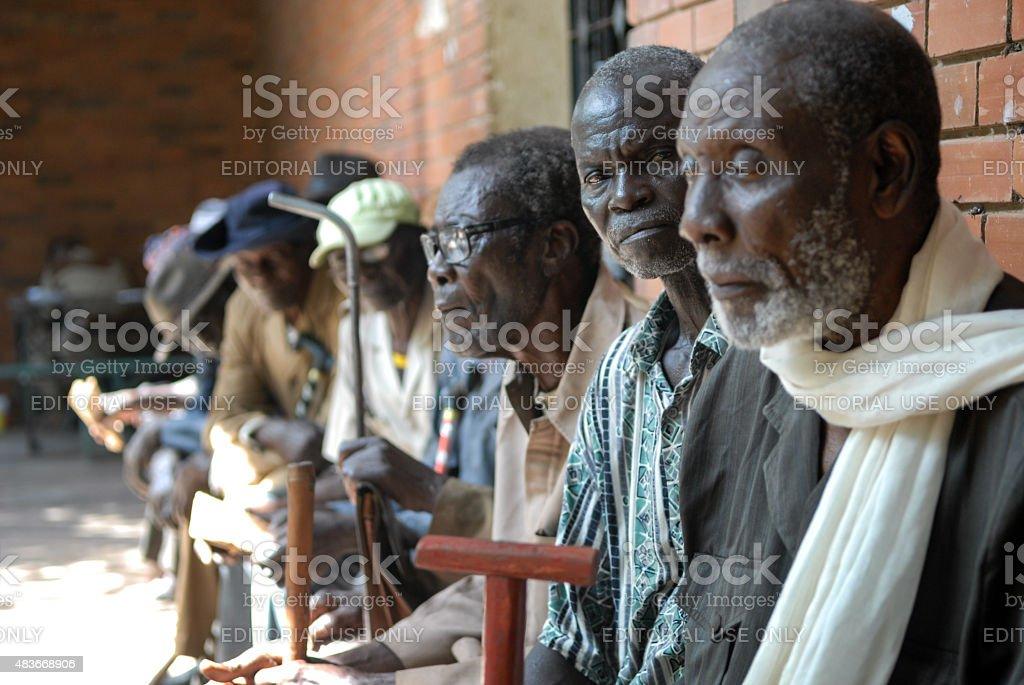Veterans dell'Africa - foto stock