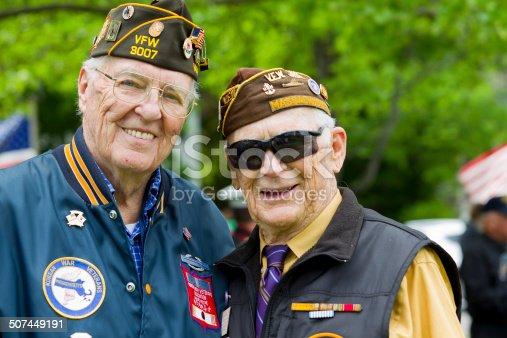 istock Veterans of World War II 507449191