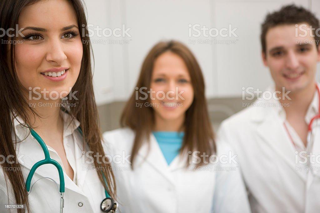Veterinarians royalty-free stock photo