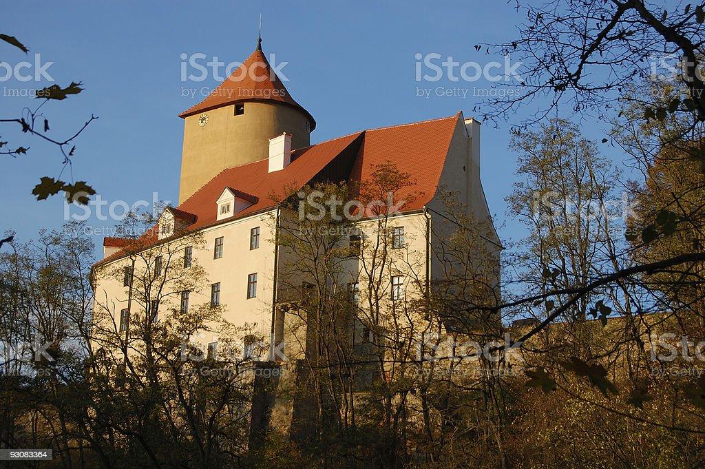 Veveri castle royalty-free stock photo