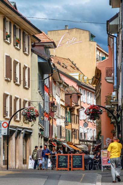 Vevey / Switzerland stock photo