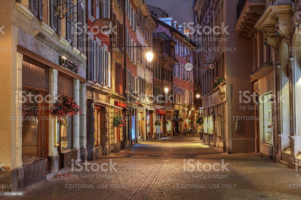 Vevey, Switzerland stock photo