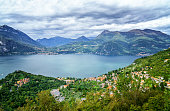 Vew of Lake Como from Varenna