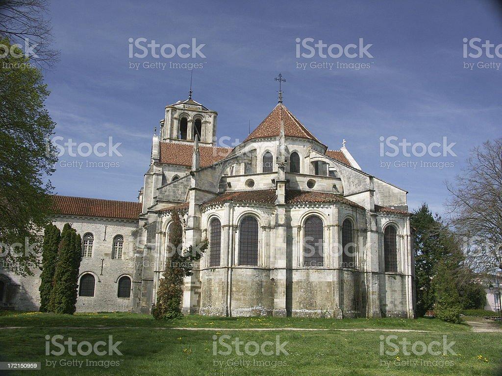 Vezelay royalty-free stock photo