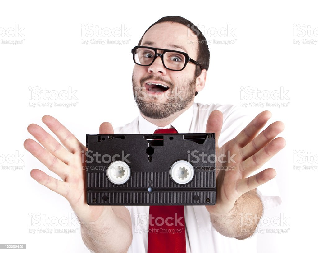 VHS! royalty-free stock photo