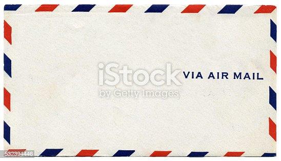 istock Via Airmail Envelope 532394446