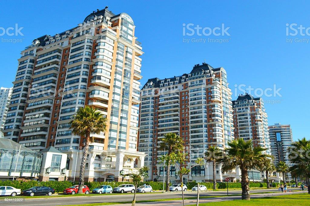 Viña del Mar Chile cityscape royalty-free stock photo