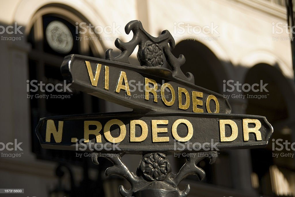 Via rodeo royalty-free stock photo