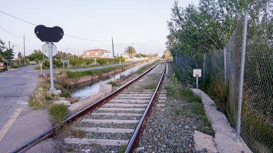 Via train in castellon