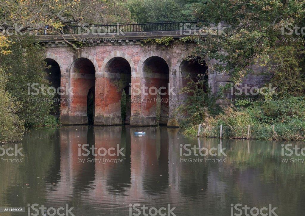 Viaduct Hampstead Heath royalty-free stock photo