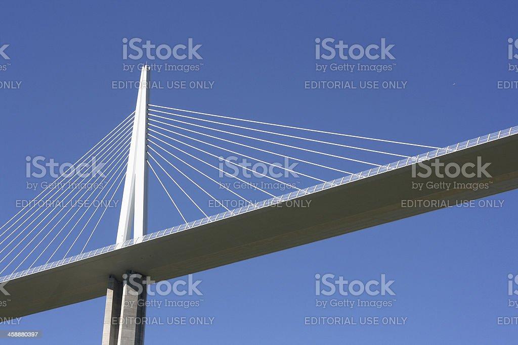 Viaduct of Millau, Aveyron, France stock photo